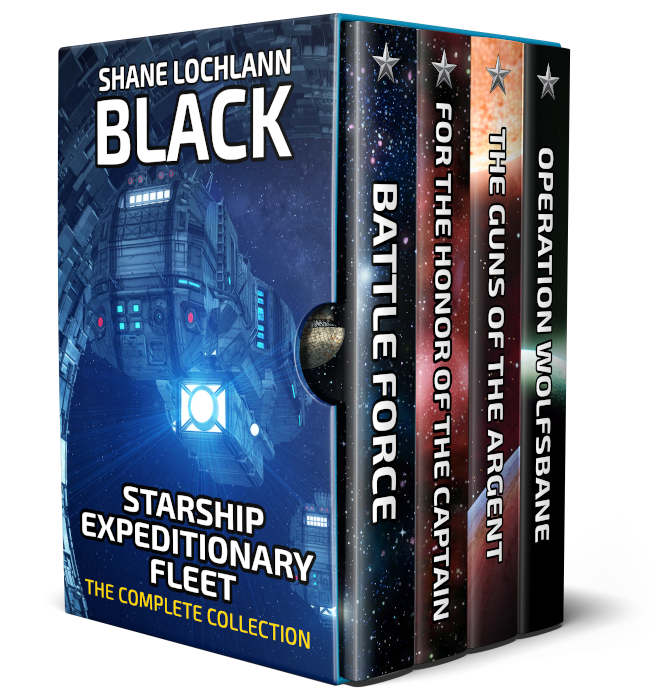 Starship Expeditionary Fleet by Shane Lochlann Black